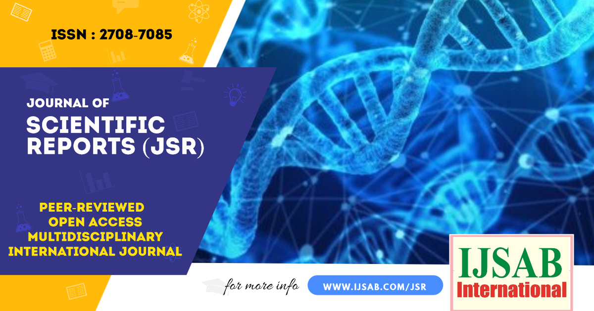 Journal of Scientific Reports (JSR)